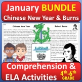 Chinese New Year and Burns Night January and February Read