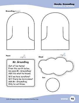 Chinese New Year and Groundhog Day Art Projects