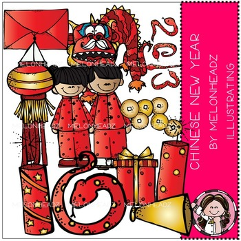 Melonheadz: Chinese New Year clip art
