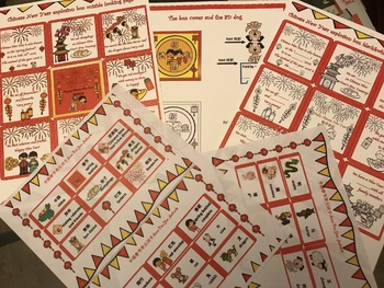 Chinese New Year explosion box English version