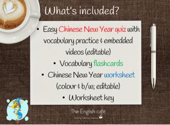 Chinese New Year quiz (easy language)