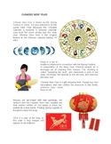 Chinese New Year - summary of customs and traditions