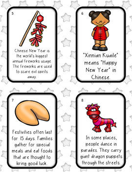 Chinese New Year Scavenger Hunt