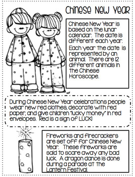 New Year 2017...Chinese, American...crafts and activities!