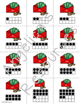 Chinese New Years 2019 : Counting and Cardinality Number Cards 1 - 20