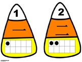 Chinese Immersion Number Sense Numbers 1-30 Candy Corn Matching