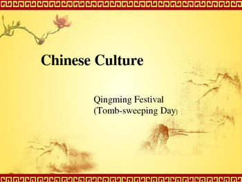 Chinese Qingming Festival (Tomb-sweeping Day)
