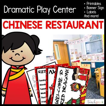 Chinese Restaurant Dramatic Play Set