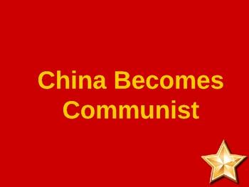Chinese Revolution powerpoint