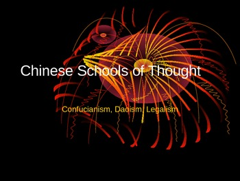 Chinese Schools of Thought