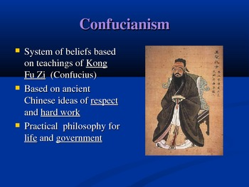 Chinese Schools of Thought Powerpoint