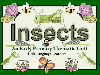 Chinese Immersion: Simplified +Traditional: DL Insects Thematic Unit