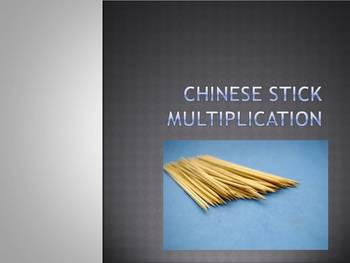Chinese Stick Multiplication - Easier Than Box or Partial Product Multiplication