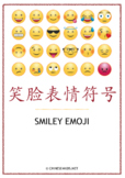 Chinese Theme Vocabulary Learning Pack – Smiley Emoji