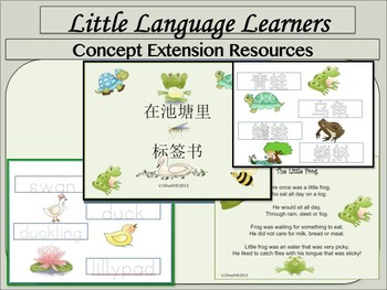Chinese Immersion Traditional and Simplified: DL  Sea Life Thematic Unit
