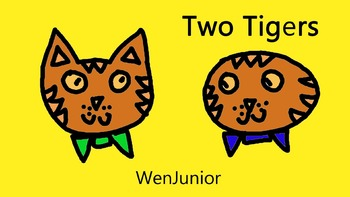 Chinese Video for Kids: Two Tigers - Learn & Sing Mandarin Chinese
