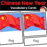 Chinese Preschool and PreK Vocabulary Cards (Classified Mo