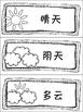 Chinese Vocabulary:Weather 中文词汇:天气(简+繁体)