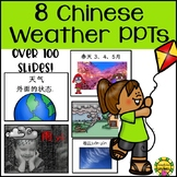 Chinese Weather Powerpoint BUNDLE