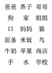 Chinese YCT 1 Flash Cards