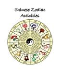 Chinese Zodiac Activities