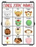 Chinese Zodiac Animals Poster - FREEBIE!