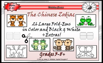 Chinese Zodiac & New Year Mini Research & Analysis Fold-Ems