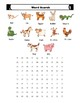 Chinese Zodiacs Posters with Word Search