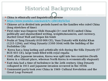 Chinese and Korean Art PowerPoint Lecture (AP ART HIST)
