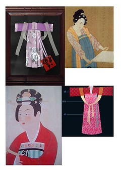Chinese craft--traditional dress