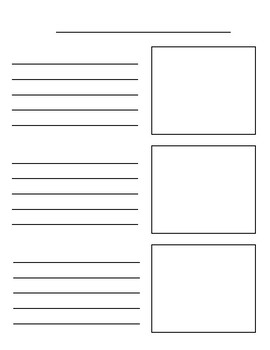 Chinese informational writing book template (All about animals)关于动物的中文小书