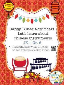 Chinese new year and instruments bulletin board