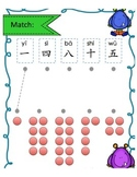 Chinese numbers interactive powerpoint, flashcards and worksheets