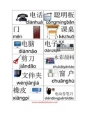 Chinese picture labels for classroom 2nd Set