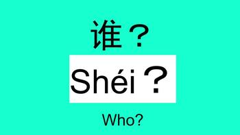 Chinese question words Classroom poster