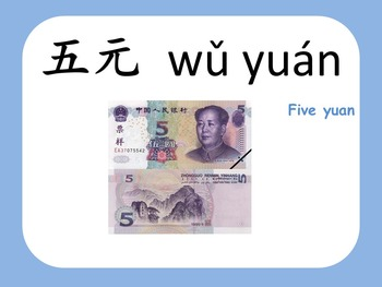 Chinese thematic unit: Money