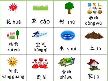 Chinese thematic unit: Nature