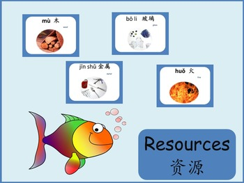 Chinese thematic unit: Resources