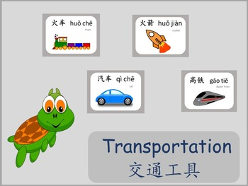 Chinese thematic unit: Transportation