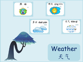 Chinese thematic unit: Weather