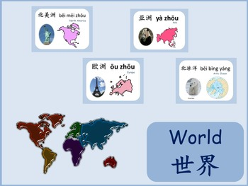 Chinese thematic unit: World