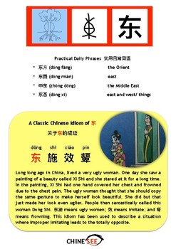 Chinesee Flashcard_东_East