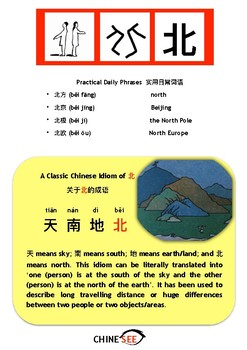 Chinesee Flashcard_北_North