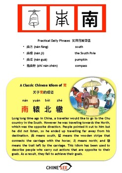 Chinesee Flashcard_南_South