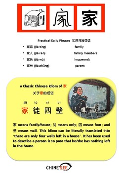 Chinesee Flashcard_家_Family