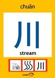 Chinesee Flashcard_川_Stream