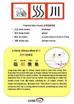 Chinesee Flashcard_川_Stream