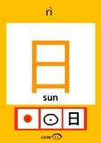 Chinesee Flashcard_日_Sun