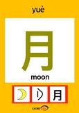 Chinesee Flashcard_月_Moon