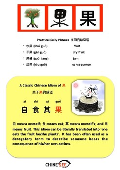 Chinesee Flashcard_果_Fruit